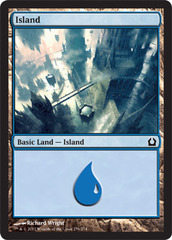Island - Foil (259)(RTR)