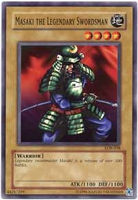 Masaki the Legendary Swordsman - LOB-038 - Common - 1st Edition