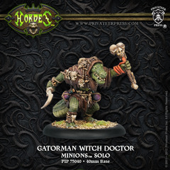 Gatorman Witch Doctor