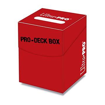 Ultra Pro 100+ Red Deck Box