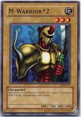 M-Warrior #2 - LOB-077 - Common - 1st Edition