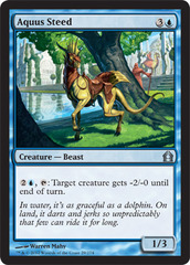 Aquus Steed - Foil on Channel Fireball