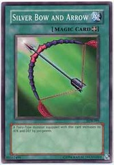 Silver Bow and Arrow - LOB-091 - Common - 1st Edition