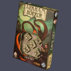 Arkham Horror Dice Set - Bone / Black