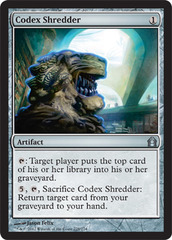 Codex Shredder - Foil