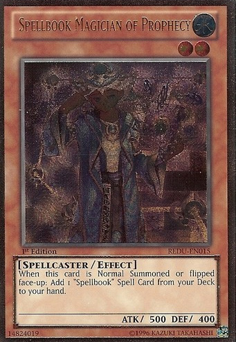 Spellbook Magician of Prophecy - REDU-EN015 - Ultimate Rare - Unlimited Edition