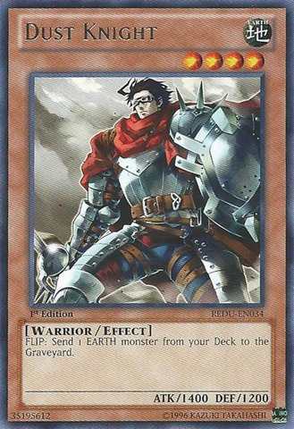 Dust Knight - REDU-EN034 - Rare - Unlimited Edition