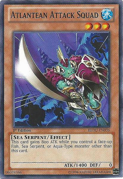 Atlantean Attack Squad - REDU-EN036 - Common - Unlimited Edition