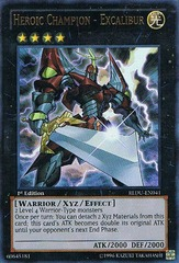 Heroic Champion - Excalibur - REDU-EN041 - Ultra Rare - Unlimited Edition