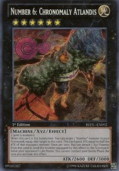 Number 6: Chronomaly Atlandis - REDU-EN092 - Secret Rare - Unlimited Edition