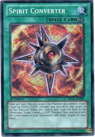 Spirit Converter - REDU-EN099 - Secret Rare - Unlimited Edition
