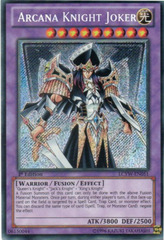 Arcana Knight Joker - LCYW-EN051 - Secret Rare - 1st Edition on Channel Fireball