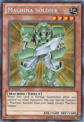 Machina Soldier - LCYW-EN168 - Secret Rare - 1st Edition