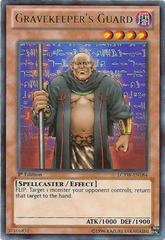 Gravekeeper's Guard - LCYW-EN184 - Ultra Rare - 1st Edition
