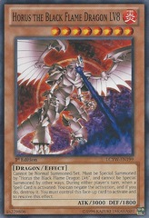 Horus the Black Flame Dragon LV8 - LCYW-EN199 - Common - 1st Edition
