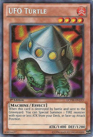 Turtle Oh Ufo Edition Secret 1st Gi Yu Lcyw Rare En233 RL453Aj