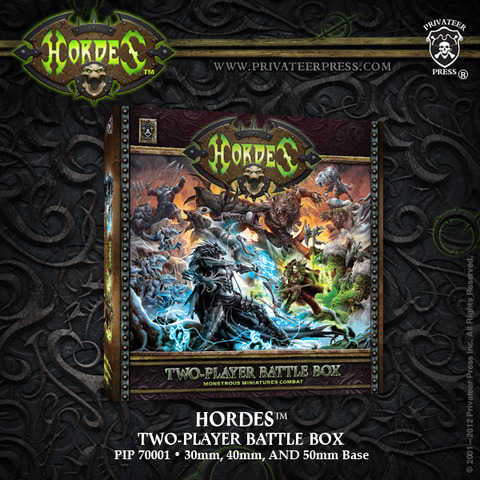 Hordes Two-Player Battlegroup Box