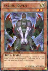 Fabled Raven - DT07-EN012 - Parallel Rare - Duel Terminal on Channel Fireball