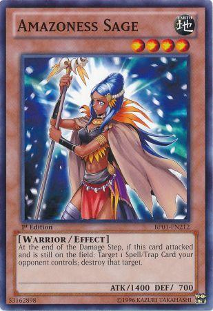 Amazoness Sage - BP01-EN212 - Common - Unlimited Edition