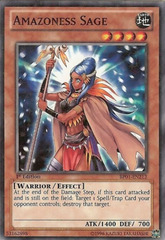 Amazoness Sage - BP01-EN212 - Starfoil Rare - Unlimited Edition on Channel Fireball