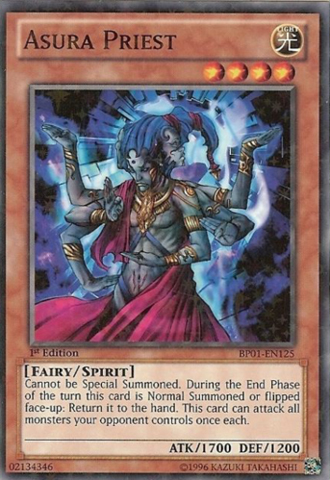 Yu-Gi-Oh 1x Exiled Force - Starfoil BP01 Battle Pack