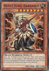 Beast King Barbaros - BP01-EN148 - Starfoil Rare - Unlimited Edition