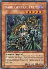 Dark General Freed - LODT-EN083 - Secret Rare - 1st Edition