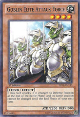 Goblin Elite Attack Force - BP01-EN140 - Starfoil Rare - Unlimited Edition