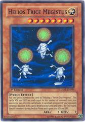 Helios Trice Megistus - LODT-EN095 - Super Rare - 1st Edition