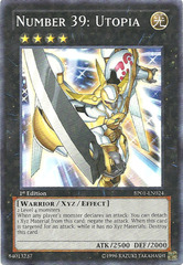 Number 39: Utopia - BP01-EN024 - Starfoil Rare - Unlimited Edition