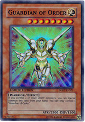 Guardian of Order - LODT-ENSP1 - Super Rare - 1st Edition