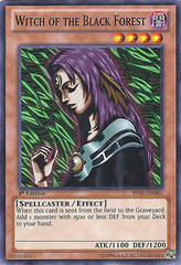 Witch of the Black Forest - BP01-EN001 - Starfoil Rare - Unlimited Edition