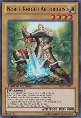 Noble Knight Artorigus - GAOV-ENSP1 - Ultra Rare - Limited Edition