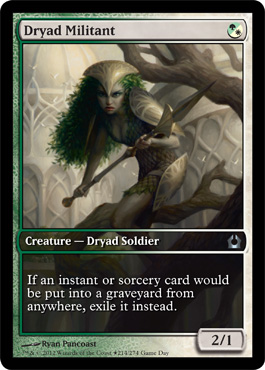 Dryad Militant - Game Day Promo