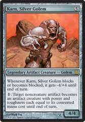 Oversized - Karn, Silver Golem on Channel Fireball