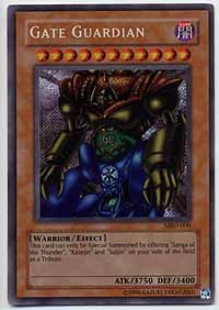 Gate Guardian - MRD-000 - Secret Rare - 1st Edition