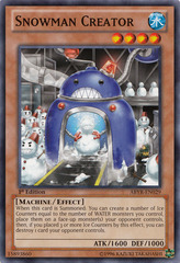 Snowman Creator - ABYR-EN029 - Common - 1st Edition