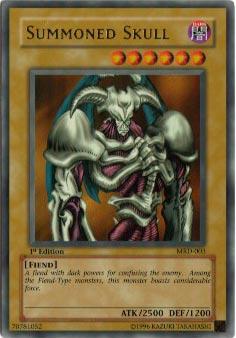 Summoned Skull - MRD-003 - Ultra Rare - 1st Edition