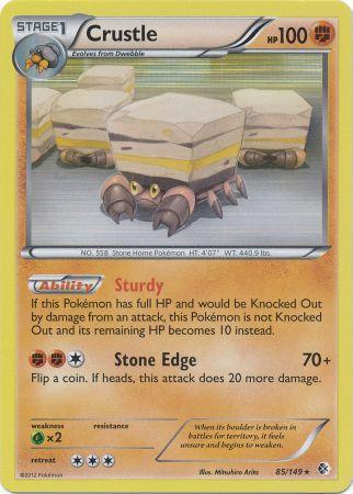 Crustle - 85/149 - Holo Rare