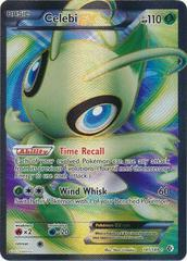 Celebi-EX Full Art - 141/149 - Super Holo Rare