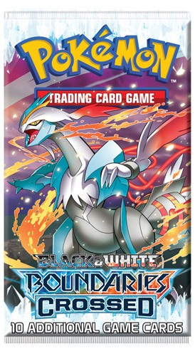 Pokemon Black & White BW7 Boundaries Crossed Booster Pack