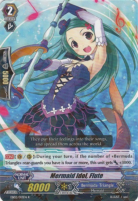 Mermaid Idol, Flute - EB02/012EN - R