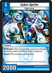 Cyber Sprite on Channel Fireball