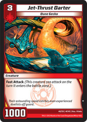 Jet-Thrust Darter on Channel Fireball