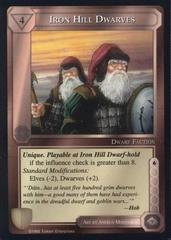 Iron Hill Dwarves [Blue Border]