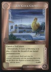 The Cock Crows [Blue Border]