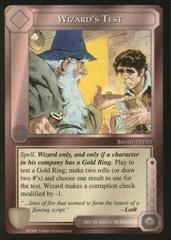 Wizard's Test [Blue Border]