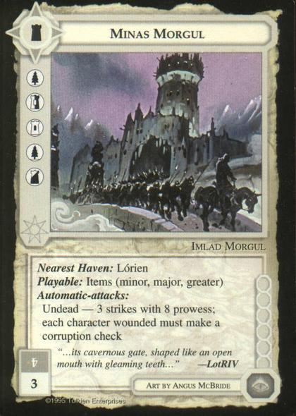 Minas Morgul [Blue Border]