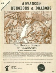 AD&D C1 - The Hidden Shrine of Tamoachan 9032 (1980 cover)