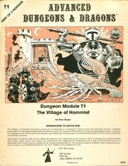 AD&D T1 - The Village of Hommlet (Monochrome) 9026